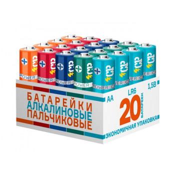 Батарейки CRAZYPOWER LR6/316 BULK20 MIX (20/120/480)