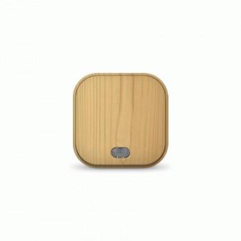 IONICH (UNIVersal) выкл. ОУ 1 кл. СОСНА (светлое дерево) (пласт. осн., инд.) 1435