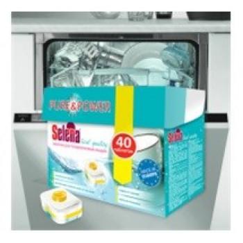 Selena Таблетки для посудомоечных машин Real quality 40шт/уп, цена за уп (Польша) МО-79