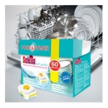 Selena Таблетки для посудомоечных машин Real quality 60шт/уп, цена за уп (Польша) МО-80