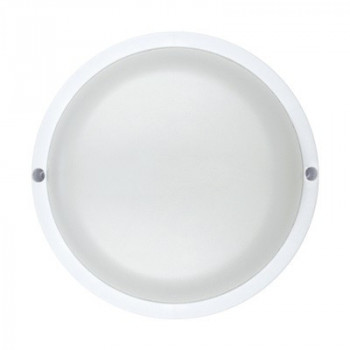 ASD/InHome светильник светодиодный ЖКХ СПП-КРУГ 18W(1440lm) 6500K 6K d160 круг (белый, пластик) IP65 1385