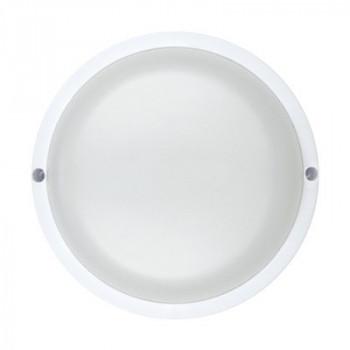 ASD/InHome светильник светодиодный ЖКХ СПП-КРУГ 8W(640lm) 6500K 6K d135 круг (белый, пластик) IP65 1408