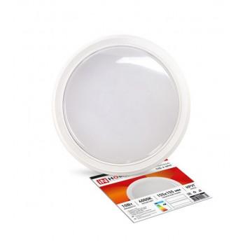 ASD/inHome светильник светодиодный ЖКХ СПБ-2 10W(800lm) 4000К 4K круг, пластик, белый 155х33 IP40 0631