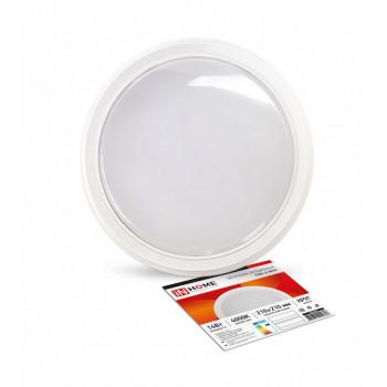 ASD/inHome светильник светодиодный ЖКХ СПБ-2 14W(1100lm) 4000К 4K круг, пластик, белый 210x37 IP40 0648