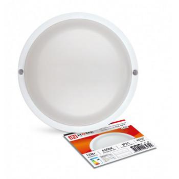 ASD/InHome светильник светодиодный ЖКХ СПП-КРУГ 12W(960lm) 6500K 6K d135 круг (белый, пластик) IP65 1392