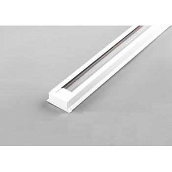 Feron Шинопровод для трековых светильников белый 2м (в наборе токовод заглушка крепление) CAB1003 10338