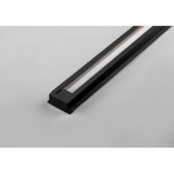 Feron Шинопровод для трековых светильников черный 1м (цена за шт) токовод заглушка крепление CAB1003 10340