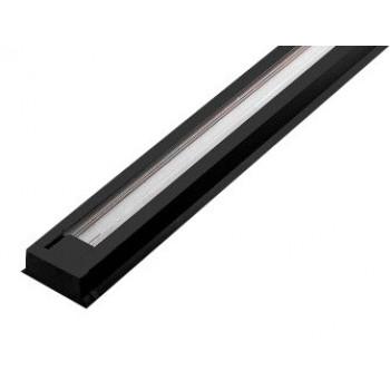 General рельс однофазный к трековым светильникам (шинопровод 1м) G-1-1-TR-IP20-B черный, 581120