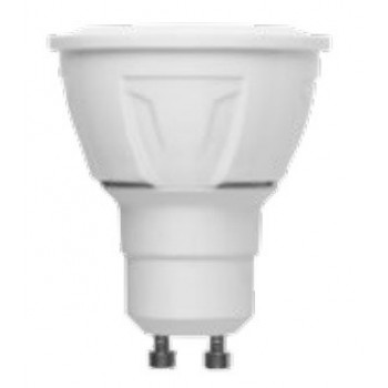 Лампа светодиодная Volpe NORMA GU10 220V 7W(600lm) 3000K 2K матовая 50x55 LED-JCDR-7W/WW/GU10/NR