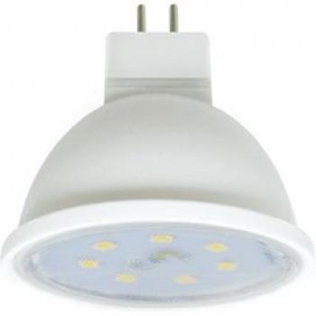 Лампа светодиодная Ecola MR16 GU5.3 220V 7W 2800K 2K 48x50 прозрачная пласт./алюм. Premium M2ZW70ELC