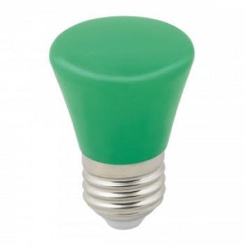 """Лампа светодиодная Volpe колокольчик E27 1W зеленая для гирлянды """"Белт Лайт"""" LED-D45-1W/GREEN/E27/FR/С BELL"""
