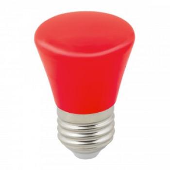 """Лампа светодиодная Volpe колокольчик E27 1W красная для гирлянды """"Белт Лайт"""" LED-D45-1W/RED/E27/FR/С BELL"""