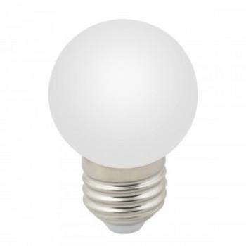 """Лампа светодиодная Volpe шар G45 E27 1W 6000K для гирлянды """"Белт Лайт"""" матовая LED-G45-1W/6000K/E27/FR/С"""