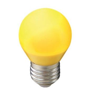 Лампа светодиодная Ecola шар G45 E27 5W Желтый матов. 77x45 K7CY50ELB