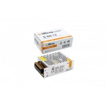 SWG блок питания для светодиодных лент 60W 12V S-60-12 IP20 0754