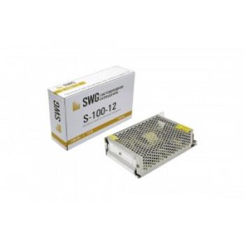 SWG блок питания для светодиодных лент 100W 12V S-100-12 IP20 0778