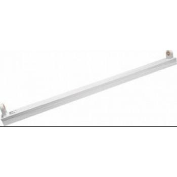 "TDM светильник ЛПО 118 1х18W T8 G13 б/ламп металл открытый ""лыжа"" L=630 н-р крепежей в компл. SQ0327-0211"
