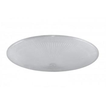TDM стекло для светильника ФСП 77-55 поликарб. расс. (в компл. обод+пружинка) (10!) SQ0334-0007