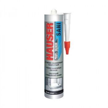 Hauser SANI герметик силиконовый санитарный белый 260мл, арт.17615