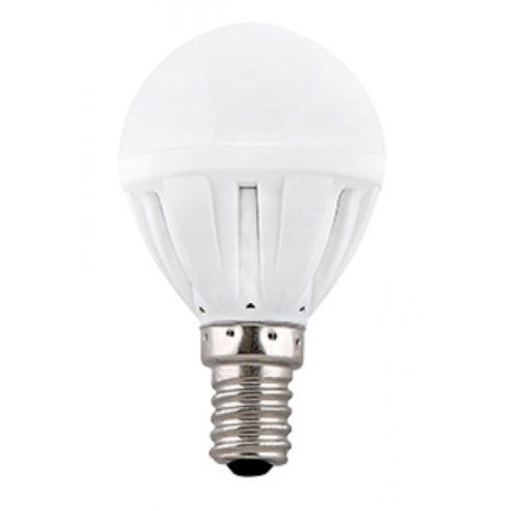 Лампа светодиодная Ecola шар G45 E14 7W 4000K 4K 82x45 (кратно 4!) TF4V70ELC