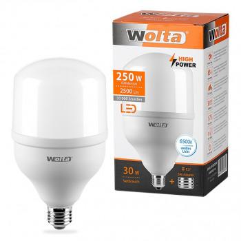 Лампа светодиодная Wolta высокомощная HP E27/E40 30W(2500Lm) 6500K 6K 185x100 25WHP30E27/40