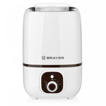 Увлажнитель воздуха BRAYER 4701BR ультразвуковой, 25Вт, 3л, распыление 250мл/час