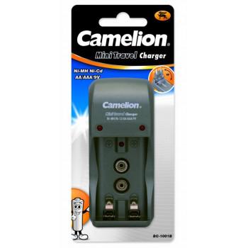 Зарядное устройство Camelion R03/R6x1/2/9Vx1 (200mA) таймер/откл BC-1001A