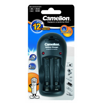 Зарядное устройство Camelion R03/R6x1/2 (150mA) таймер/откл, индик. BC-1009